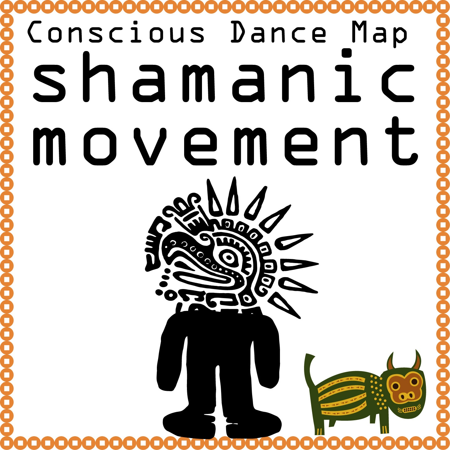 Shamanic movement or astral dance